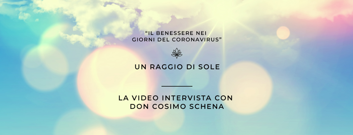 Incontro con Don Cosimo Schena
