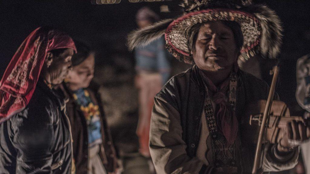 Lo strumento tipo degli Huicholes, la popolazione famosa per il peyote