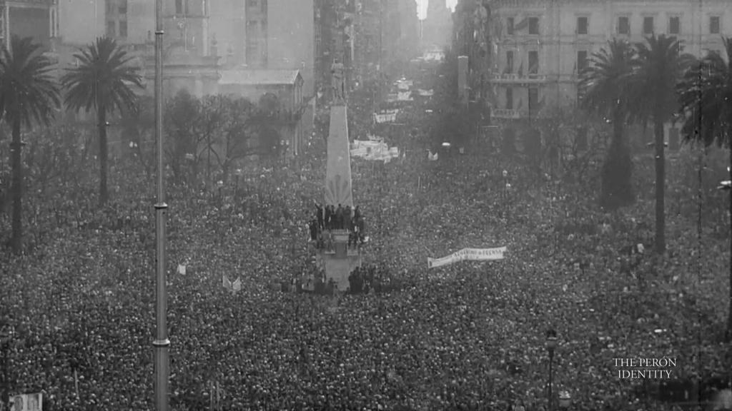 Plaza de Mayo,  Juan Domingo Perón