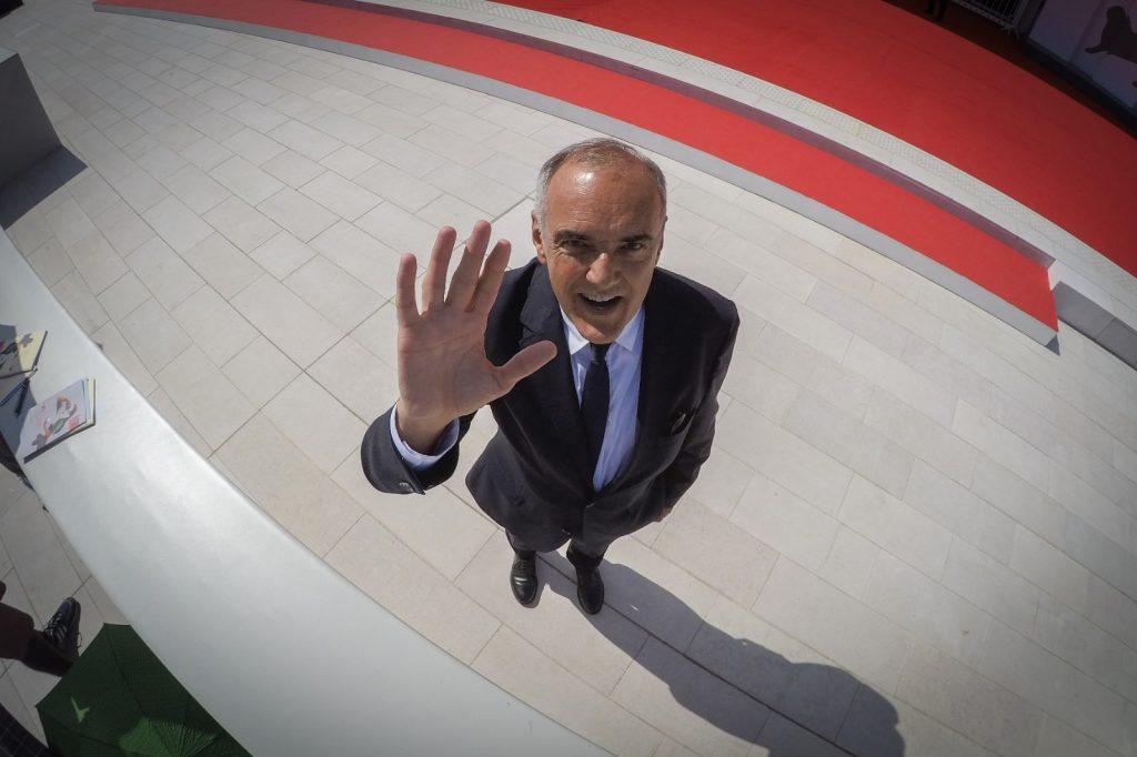 Il Direttore della 77.Mostra Internazionale d'Arte Cinematografica di Venezia Alberto Barbera