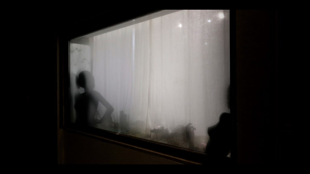 vetrine con manichini